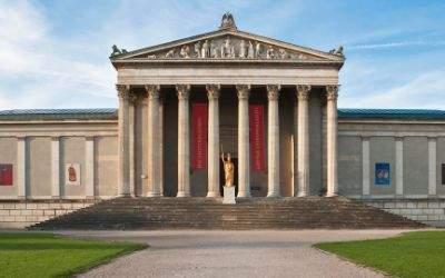 Staatliche Antikensammlungen auf dem Königsplatz in München