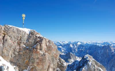 Zugspitze höchster Berg Deutschlands