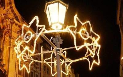 Weihnachtliche Beleuchtung in der Sendlinger Straße