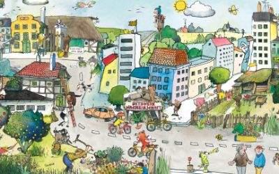 Bild von Janosch zum Netzwerk Nachbarschaft.