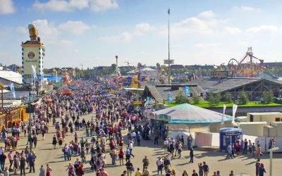 Überblick über das Oktoberfest