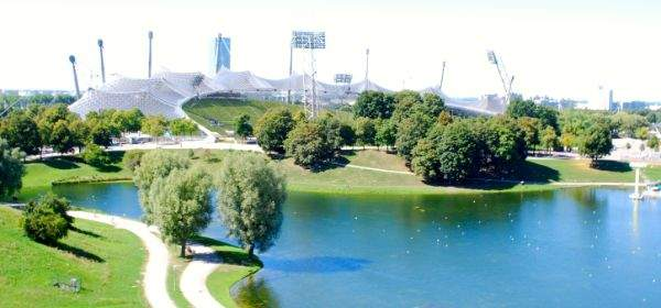 olympiasee, olympiapark, münchen