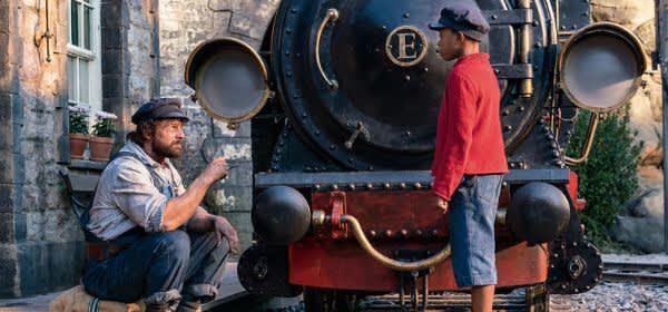"""Szene aus dem Film """"Jim Knopf und Lukas der Lokomotivführer"""""""