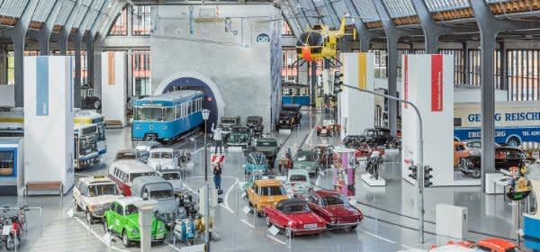 Verkehrszentrum des Deutschen Museums: Haupthalle