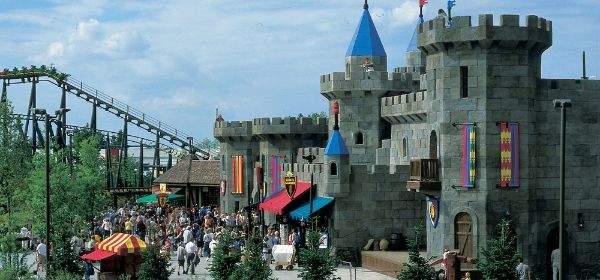 Legoland Land der Ritter Ritterburg