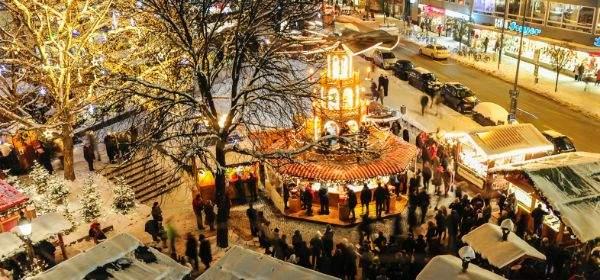 Eindrücke von der weihnachtlichen Münchner Innenstadt