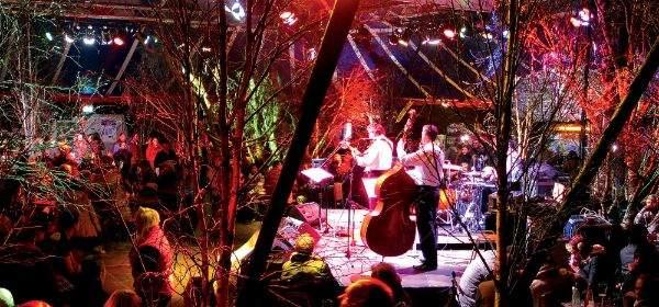 Die Tief im Wald Bar auf dem Wintertollwood