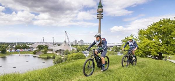 E Bike Days im Olympiapark